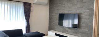 モノトーン&キラキラ、クールビューティなお部屋